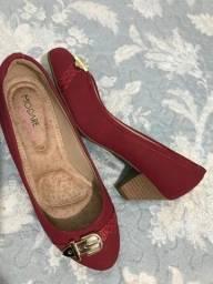 Sandalia n°36 Modare vermelha