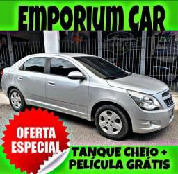 TANQUE CHEIO SO NA EMPORIUM CAR!!! COBALT 1.4 LT ANO 2015 COM MIL DE ENTRADA