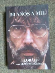 Livro - 50 anos a mil: Lobão