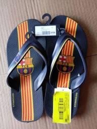 Chinelo Barcelona 37/38. 25.00