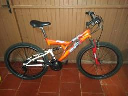Bicicleta 24 marchas 2 amortecedores