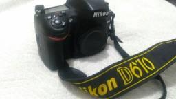 Corpo de câmera full frame D610 Nikon