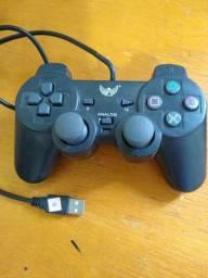 Controle Joystick USB PC Notebook