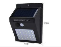 Refletor Balizador Solar 30w Sensor de Presença Externo_ C306
