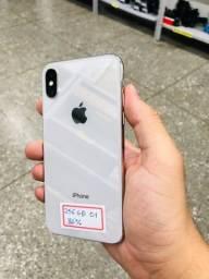 iPhone X silver 256g >> produto pronta entrega com garantia