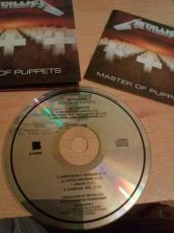 Cd Metallica Master of Puppets Remastered novo