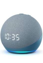 Smart Speaker Alexa Echo Dot 4 Geração -  Preta