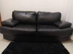 Vendo sofa de couro ecológico