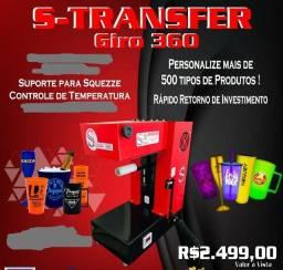 Máquina Transfer Laser Giro 360
