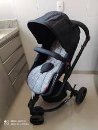Vendo Carrinho+Bebê Conforto+ Base Safetty