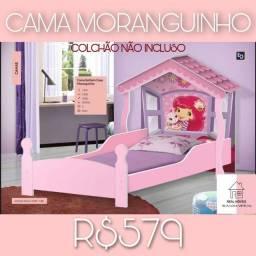CAMA MORANGUINHO  ( CAMA MORANGUINHO CASINHA)