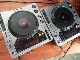 2 cdj 800mk1 híbrido (cd + modo controladora)