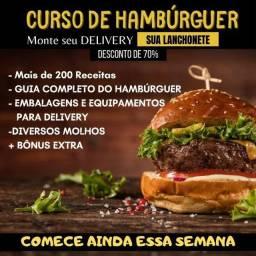 Curso Hambúrguer Artesanal