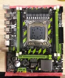 Kit Placa Mãe Lga 2011 + Xeon E5-2650v2 + 16gb Ddr3 Ecc - Troco por placa de vídeo