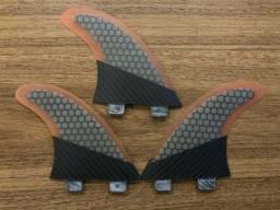 3 Quilhas Fibra de Carbono FCS1 Medium G5