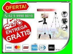 Disponibilizamos.Pronta_Entrega-Tripé Universal 3x Câmera E Celular