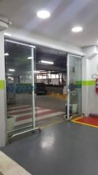 KIT Porta  Automatica Vidro / Aluminio - sensor movimento/senha/Biometria - Ate 6x iguais