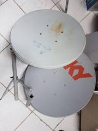 Prato de antena off-set