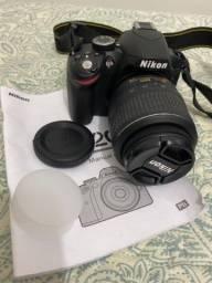 Câmera semi-profissional NiKon d3200