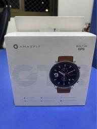 Relógio Amazfit GTR 47mm - Stainless Steel - Semi novo