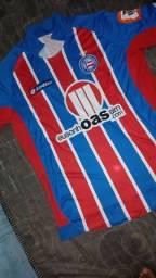 Camisa do Bahia - Oficial, Lotto, tamanho XL