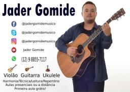 Aulas de Guitarra - Violão - Ukulele - 17 anos de experiência - 2x por Semana