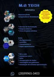 FORMATACAO COMPUTADORES E NOTEBOOK