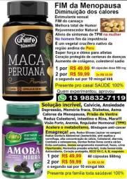Maca Peruana Fim dos calores Meno-pausa Premium