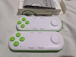 2 Controles bluetooth vr 3d para celular