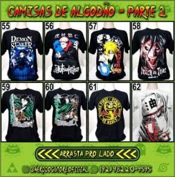 Título do anúncio: Camisa Geek Algodão (parte 2) - NerdDog Store