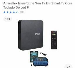 Aparelho transforma TV em smart
