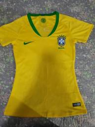 Camisa Brasil feminina P