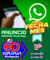 Divulgação em Grupos whatsapp