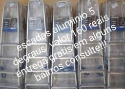 Escadas aluminio  novas