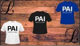 Camisas para o dia dos pais.