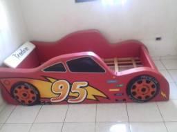 Cama infantil Relâmpago McQueen (Carros)