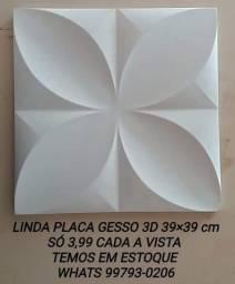 Só 3,99 linda placa de gesso 3d Pétalas 39x39 cm