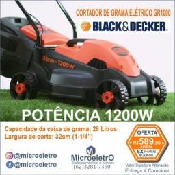 Cortador de Grama Elétrico GR1000 1200W