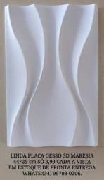 Só 3,99 linda placa de gesso 3d Dunas 44x29 cm