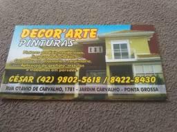 Pinturas residenciais e industriais