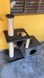 Toca casinha para gatos