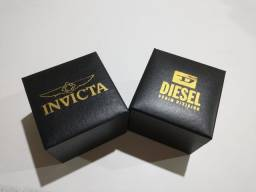 Relógios Invicta e Diesel primeira linha.