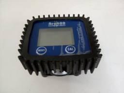 Medidor digital de volume vazão lubrificantes e arla postos e trocas de oleo
