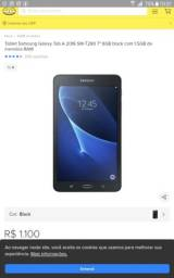 "Tablet Samsung Galaxy Tab A 2016 SM-T285M 7"" Black com 1,5GB de memória RAM"