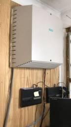 Central telefônica Siemens +interface celular intelbras