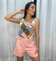 Shorts com Cinto Sublime Premium