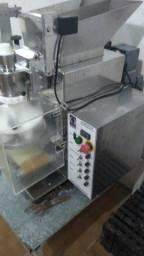 Fábrica coxinhas completa modeladora frizer masseira moedor