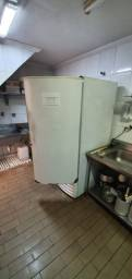 Freezer vertical Metalfrio funcionando