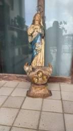 Nossa senhora da Conceição em madeira.