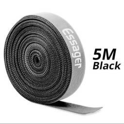 Velcro organizador de cabos 5 metros Essager ultra aderente top de linha